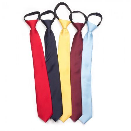 Γραβάτα μαύρη κλασική παρέλασης (43 cm)