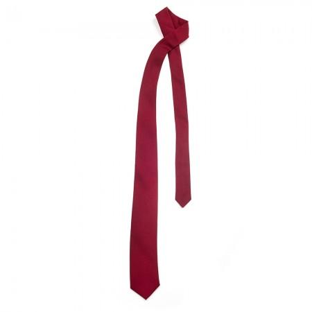 Γραβάτα παρέλασης χωρίς λάστιχο μπορντό