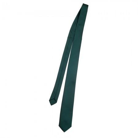 Γραβάτα παρέλασης χωρίς λάστιχο πράσινο σκούρο