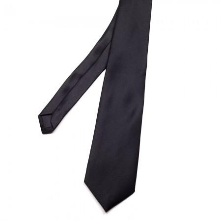 Γραβάτα παρέλασης χωρίς λάστιχο μαύρη