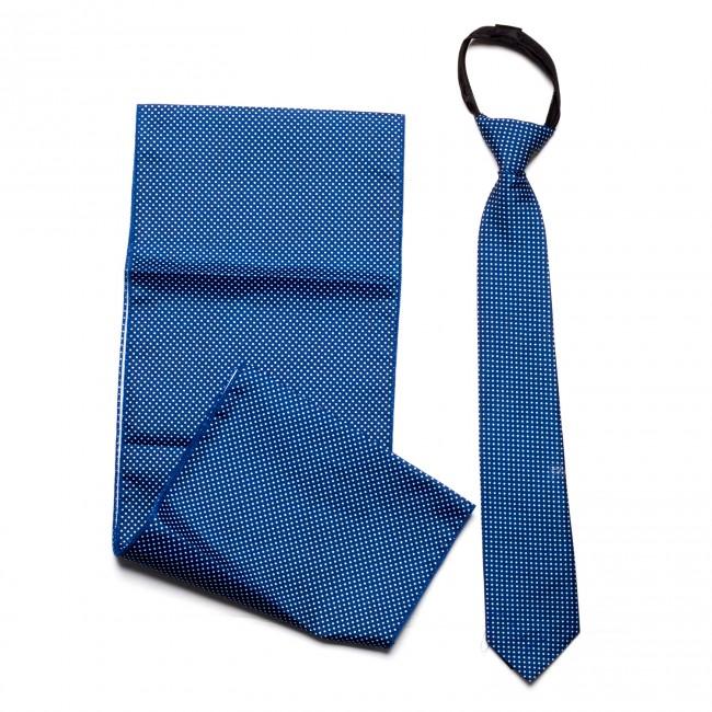 Γραβάτα παρέλασης πουά μπορντό (35cm)