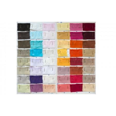Κλασικά τετράγωνα μαντήλια σατέν, παρελασης και σχολικών εκδηλώσεων χρωματολόγιο