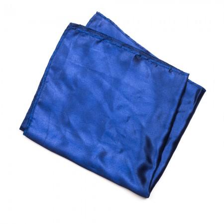 Kλασικό τετράγωνο μαντήλι σατέν παρέλασης και σχολικών εκδηλώσεων χρώματος ραφ