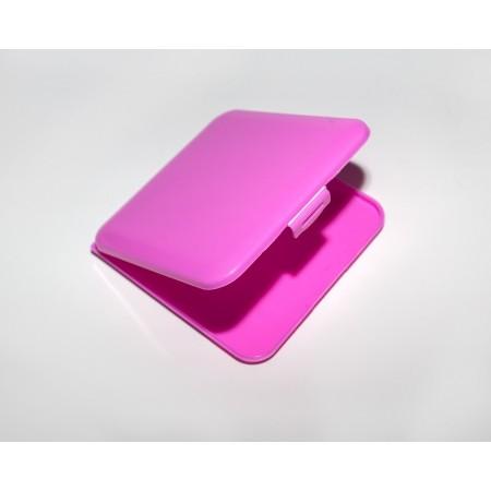 Θήκη για μάσκα φούξια-ροζ