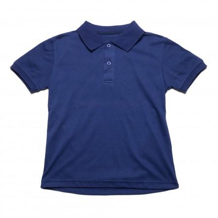 Μπλουζάκι κ/μ πολο μπλέ χρώμα