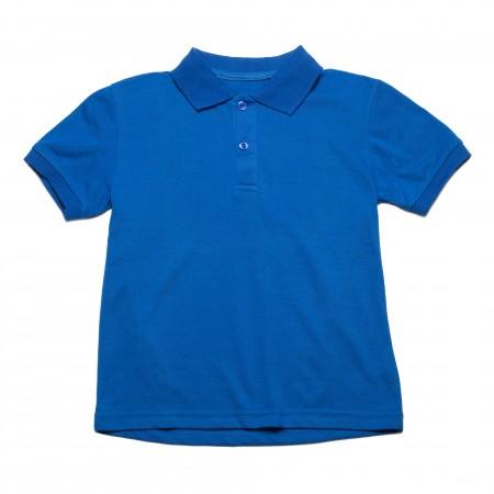 Μπλουζάκι κ/μ πολο μπλέ ηλεκτρίκ χρώμα