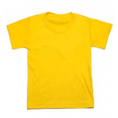 Μπλουζάκι μακό κ/μ κίτρινο