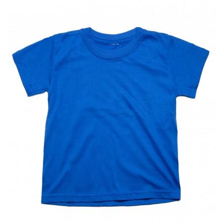 Μπλουζάκι μακό κ/μ μπλέ ηλεκτρίκ