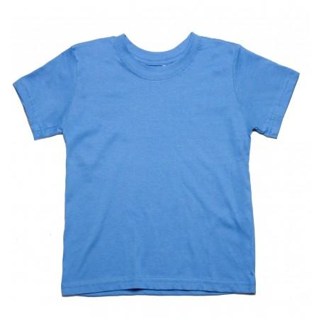 Μπλουζάκι μακό κ/μ γαλάζιο