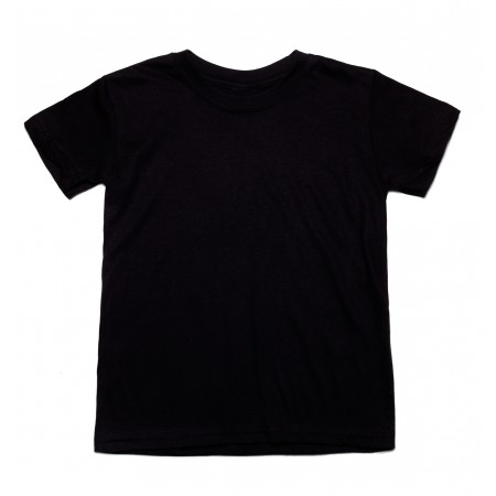 Μπλουζάκι μακό κ/μ μαύρο