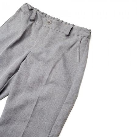 Παντελόνι καπαρτίνα για παρέλαση γκρί (4-18)