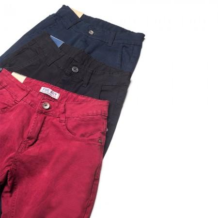 Παντελόνι για παρέλαση καπαρτίνα ελαστική μπλέ (4-16)