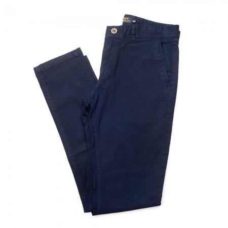 Παντελόνι για παρέλαση καπαρτίνα ελαστική μπλέ (28-38)