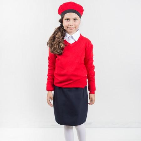 Πουλόβερ βε παρέλασης κόκκινο (4-8 ετών)
