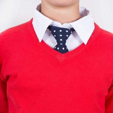 Πουλόβερ βε παρέλασης κόκκινο (10-14 ετών)