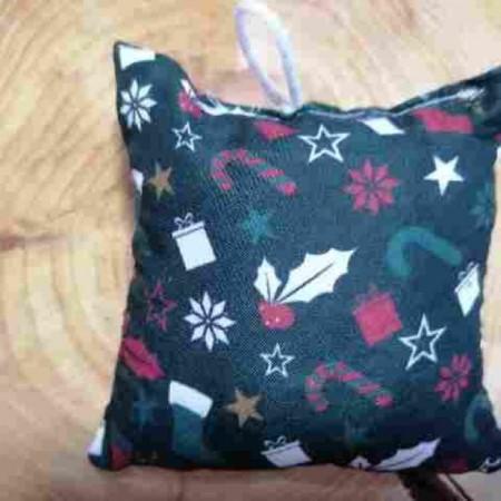 Χριστουγενιάτικο στολίδι μαξιλαράκι - Christmas