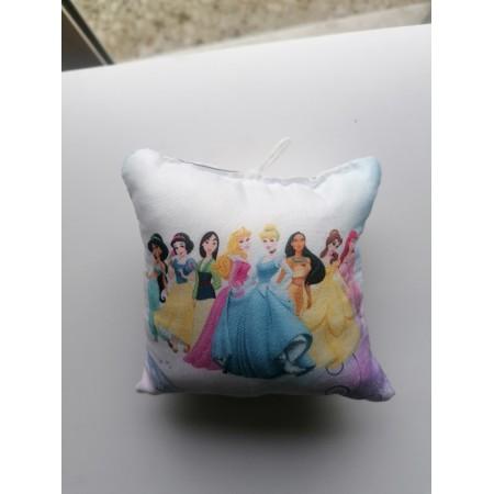 Χριστουγενιάτικο στολίδι μαξιλαράκι - Disney princesses