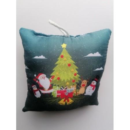 Χριστουγενιάτικο στολίδι μαξιλαράκι - Christmas tree