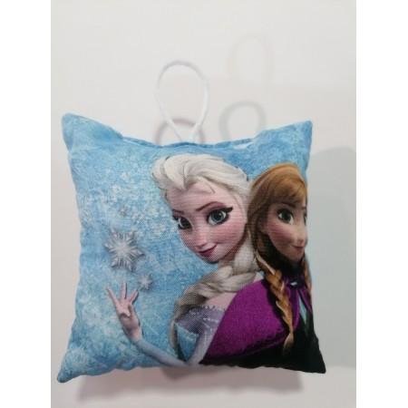 Χριστουγενιάτικο στολίδι μαξιλαράκι - Anna & Elsa