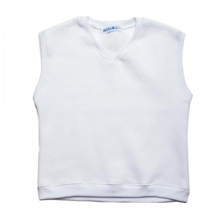 Καζάκα παρέλασης φούτερ με βε λευκό  (6-18 ετών)