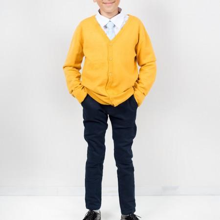 Ζακέτα παρέλασης κίτρινη (6-16 ετών)